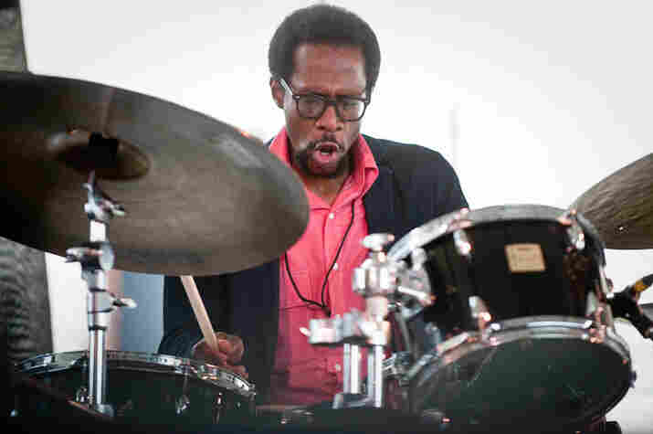 Brian Blade performs with his Fellowship Band.