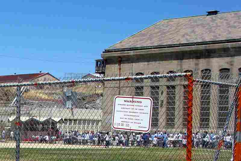 Like all California prisons, Folsom is overcrowded. Its official capacity is 1,813 inmates; it now holds 4,427 men, segregated by race. Even in the yard, races don't mix.