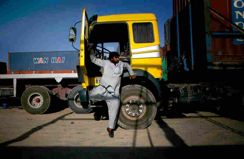 Driving a truck in Afghanistan is a dangerous, but lucrative business.
