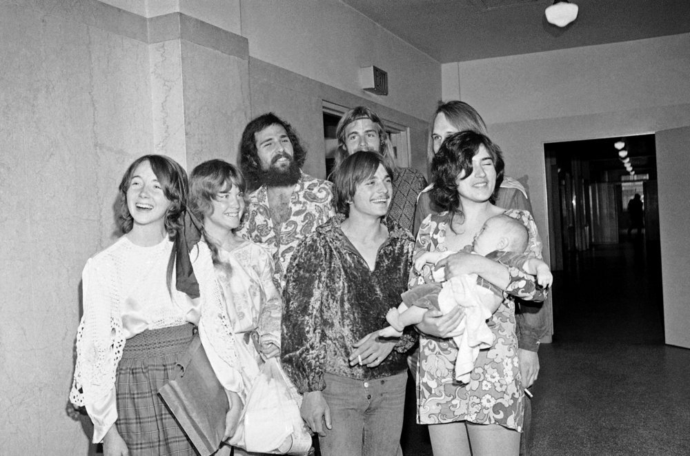 Charles Manson's Family Smiles For The Camera