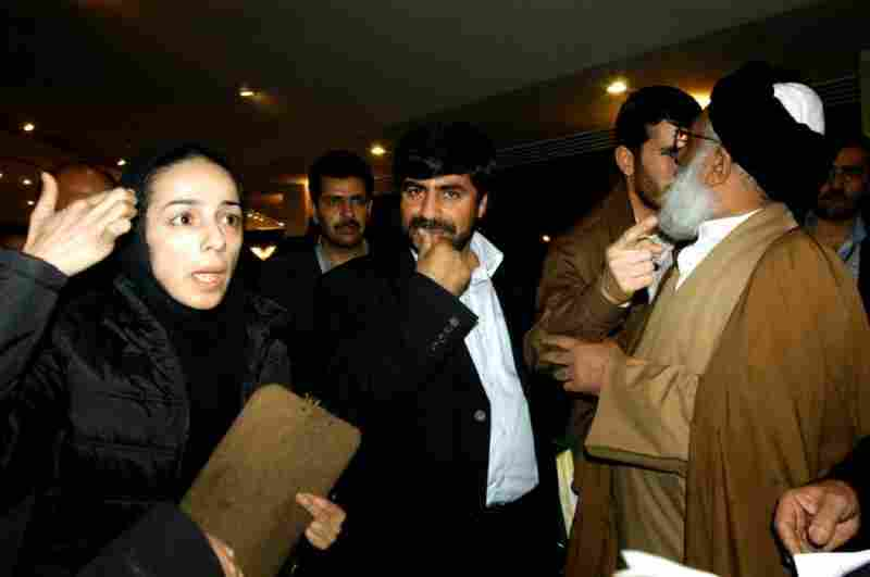 That same year, Alinejad was verbally attacked by a conservative deputy in parliament for not fully covering her hair under her headscarf.