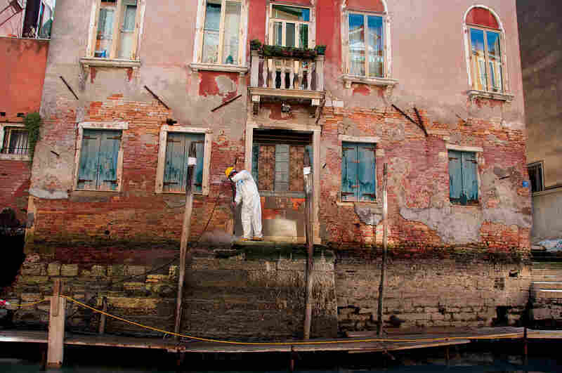 The cost of maintaining a sinking city is crippling the local government. One solution is to soak tourists with high prices. It's a mainstay of the Venice economy, but a double-edged sword for the locals.
