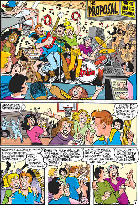 Page 2 of Archie Comics Issue No. 600