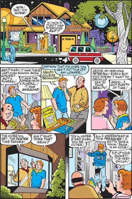 Page 3 of Archie Comics Issue No. 600