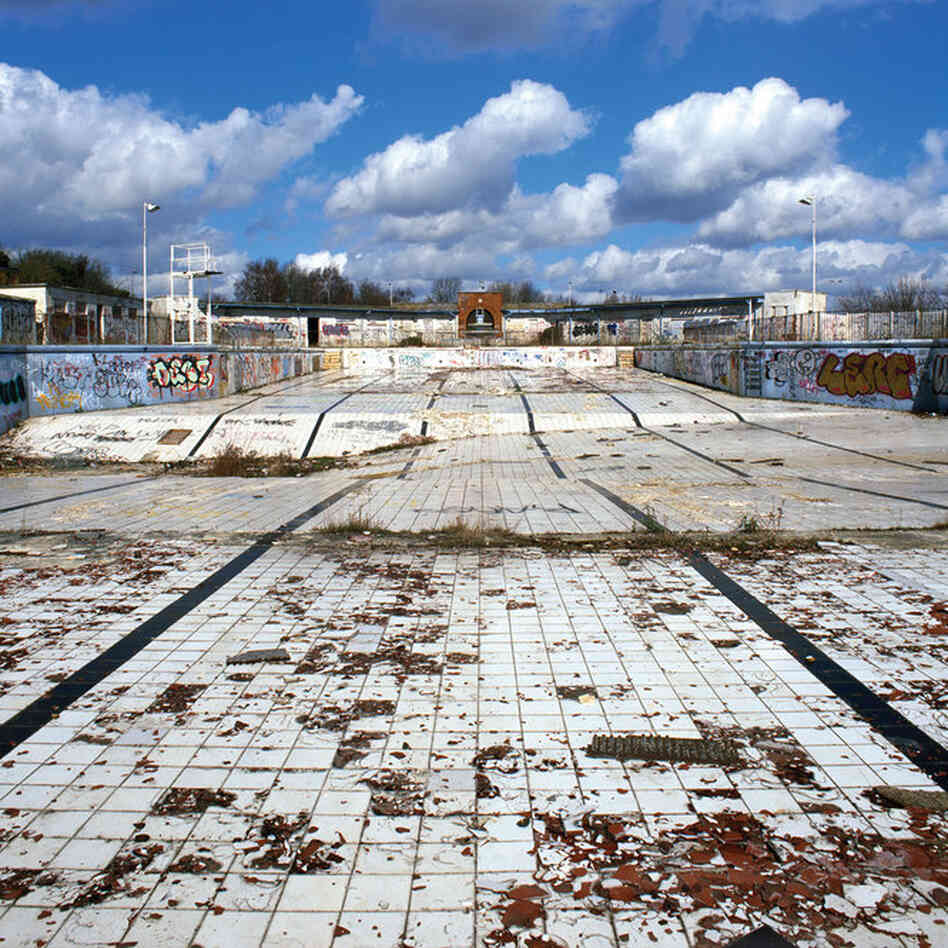 Absence Of Water Abandoned Pools The Picture Show Npr