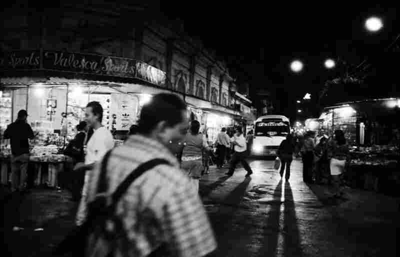 The heart of San Salvador at night is not the safest of areas. El Salvador has one of the highest homicide rates in the world.