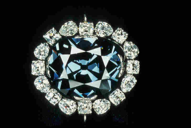 The Hope Diamond in its current setting, designed by jeweler Pierre Cartier.