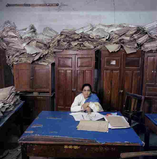 """From the series 'Bureaucratics': India-17,"" Jan Banning, Utrecht, Netherlands, second place."