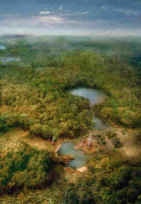 The Collect Pond, once located just west of modern Chinatown, sustained Lenape village tribe before becoming the main freshwater supply for European settlers.