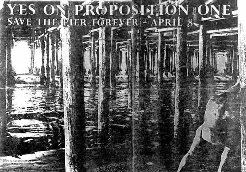 In 1975, Proposition 1 passed with two-thirds of Santa Monica voting to preserve the pier forever.