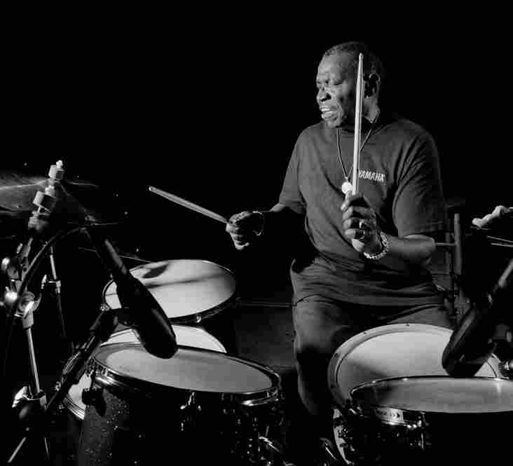 Elvin Jones, Avatar Studios, New York City, September 1997