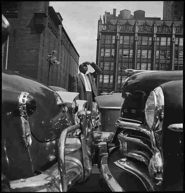Thad Jones, cover photo session for The Magnificent Thad Jones, Manhattan, July 1956