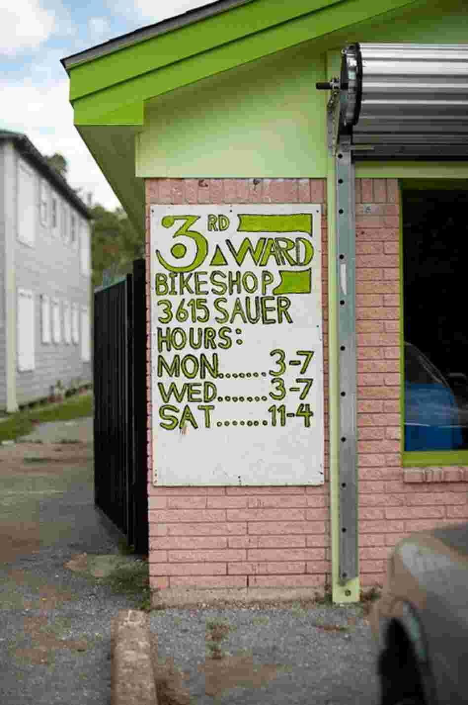 The Third Ward Community Bike Shop is helping to improve the area by offering do-it-yourself bike repair facilities and youth programs.