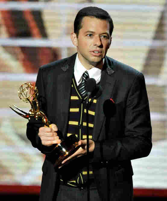 Jon Cryer of Two and a Half Men took home the award for best supporting actor in a comedy series.