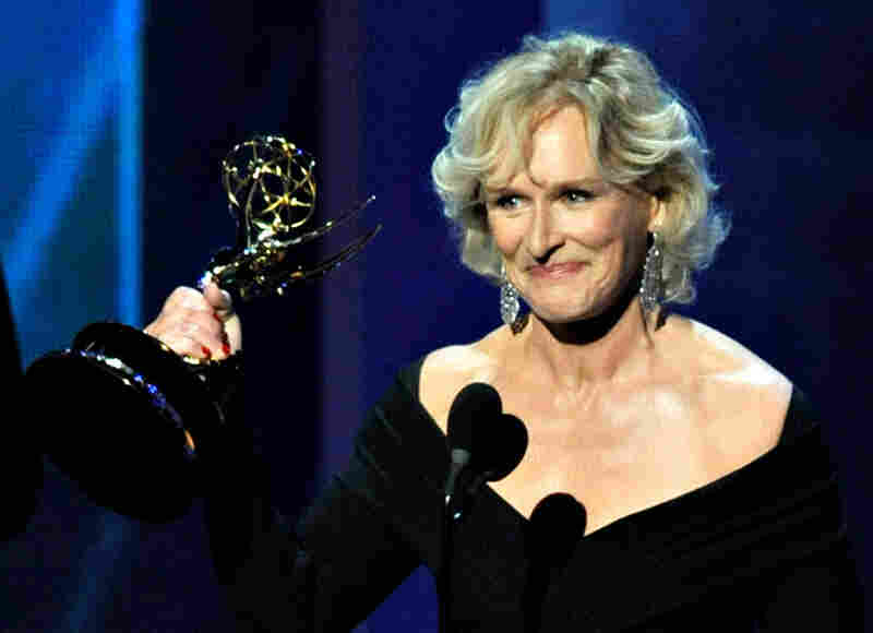For the second straight year, Glenn Close won the Emmy for best lead actress in a drama for her role as ruthless lawyer Patty Hewes in Damages.