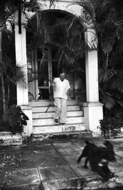 Hemingway resisted having his photograph taken, so Eisenstaedt resorted to taking stealthy candids.