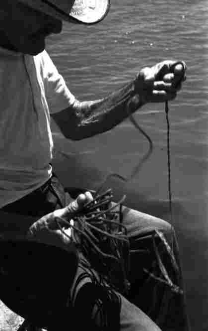 Hemingway himself was a fisherman, and he carefully delineated the chores of a Cuban fisherman in his story — chores similar to those photographed by Eisenstaedt.