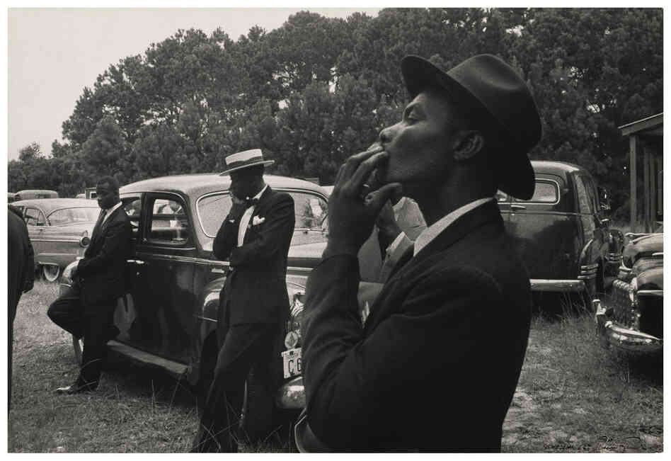 Funeral, St. Helena, South Carolina, 1955