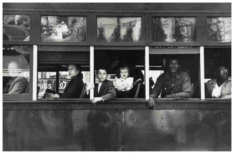 Trolley, New Orleans, 1955