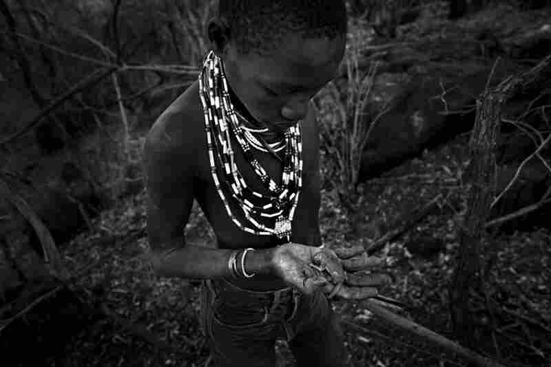 There are fewer than 800 true bushmen left in Tanzania; their way of life and environment is being demolished by modernization and urbanization.