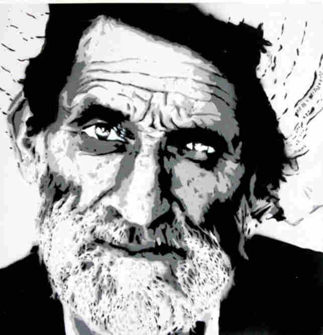 """""""Old Man Portrait 1"""" by MAD"""