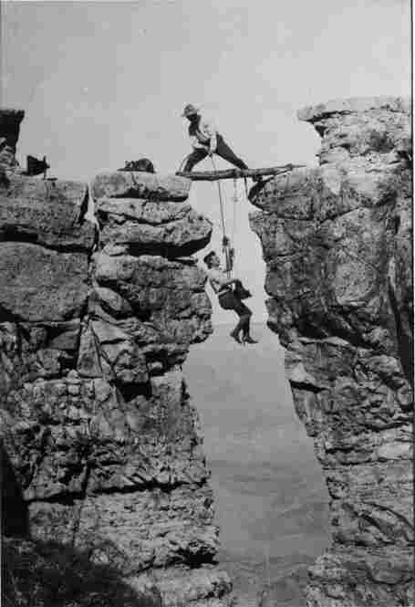 Ellsworth and Emery Kolb (pictured) established their photographic studio on the South Rim of the Grand Canyon in 1902.  (Credit: Grand Canyon National Park Museum Collection)