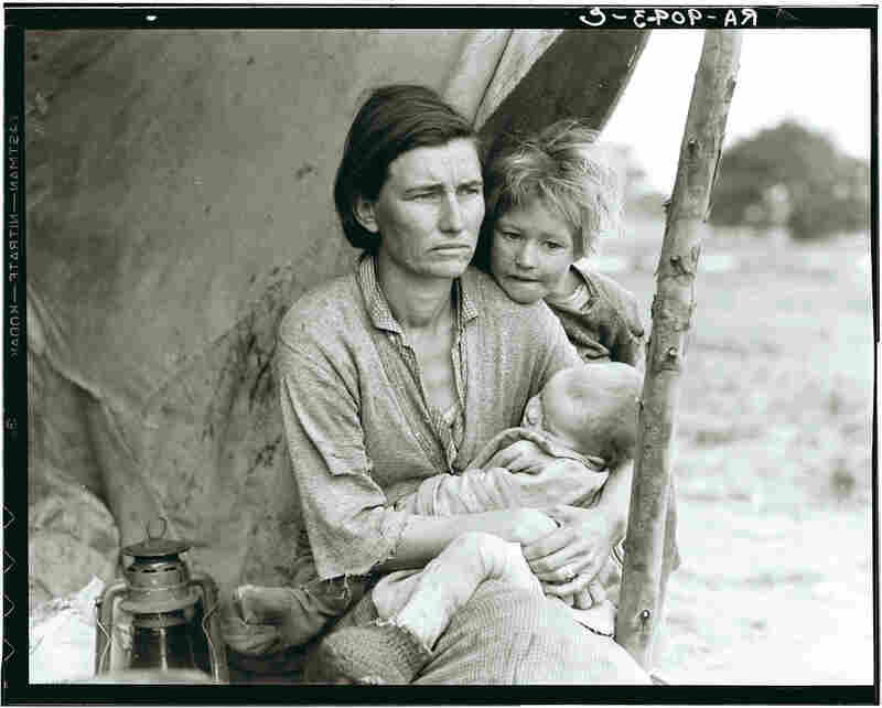 "Dorothea Lange was a documentary photographer for the federal Resettlement Administration, which later became the Farm Security Administration (FSA). Her photograph, ""Migrant Mother,"" is one of the most iconic images of the Great Depression."