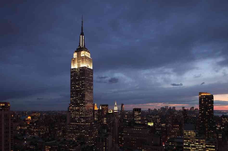 The Empire State Building is currently undergoing a $550 million renovation that includes, among other things, restoring the Celestial Mural and replacing every window the 102-story landmark.