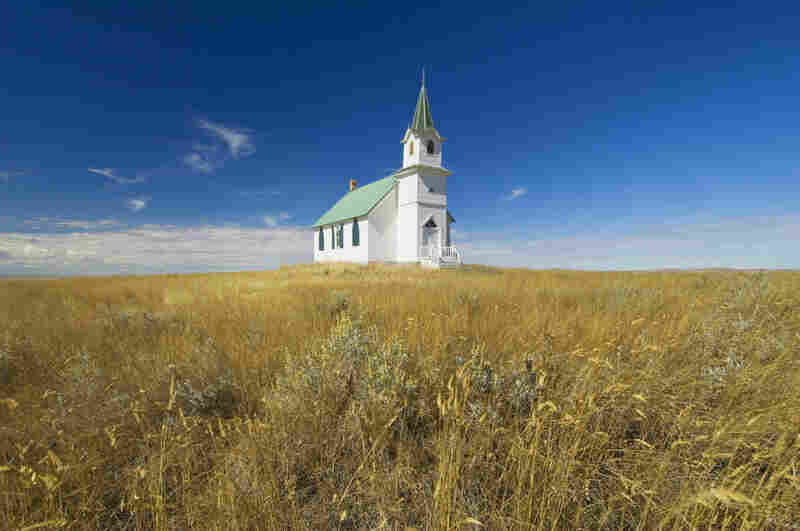 The Scandia Lutheran Church in Phillips County, Mont., was built by Scandinavian homesteaders in 1915. Country churches like this one have been important anchors for rural communities throughout the Great Plains.