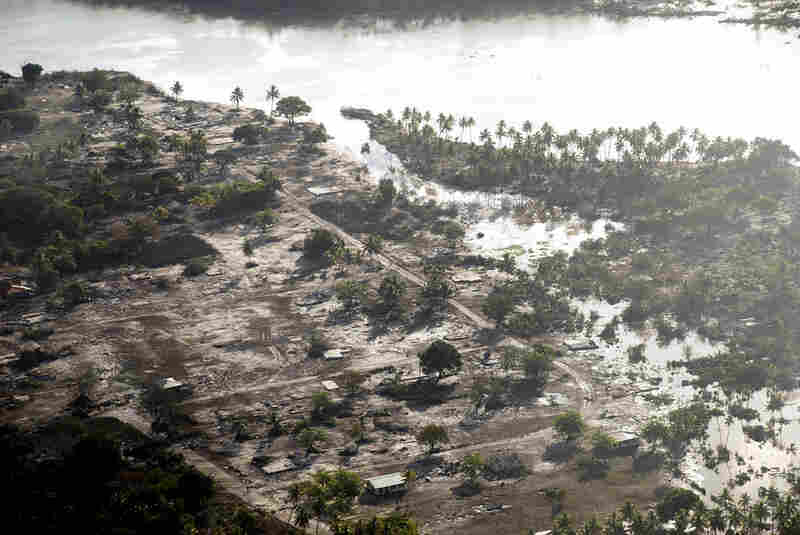 An 8.0 magnitude earthquake struck on Sept. 29 in the Pacific Ocean, creating a tsunami that devestated the Samoa islands and Tonga. Hihifo, on the western side of Tonga, experienced a large amount of flooding and devastation.
