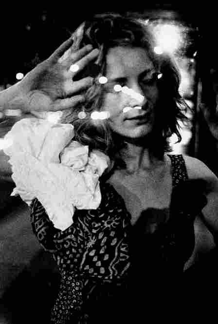 """Woman pressed against glass,"" Paris 2003."
