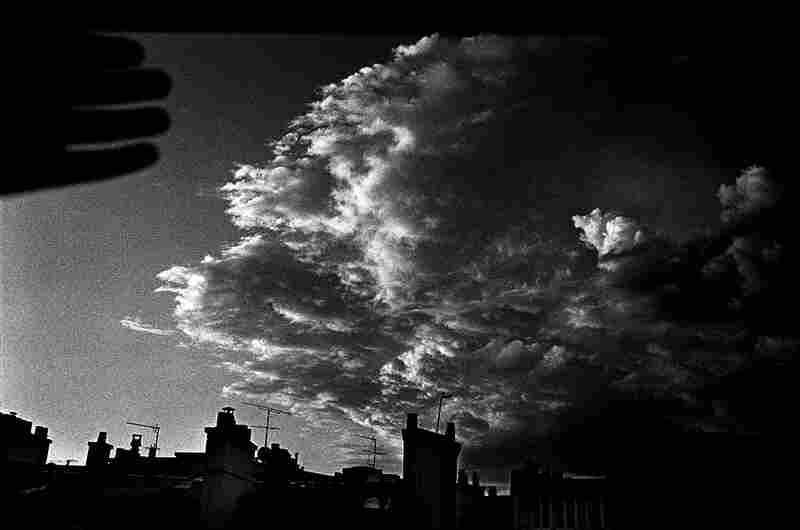 """""""My hand and clouds,"""" Paris 2008."""