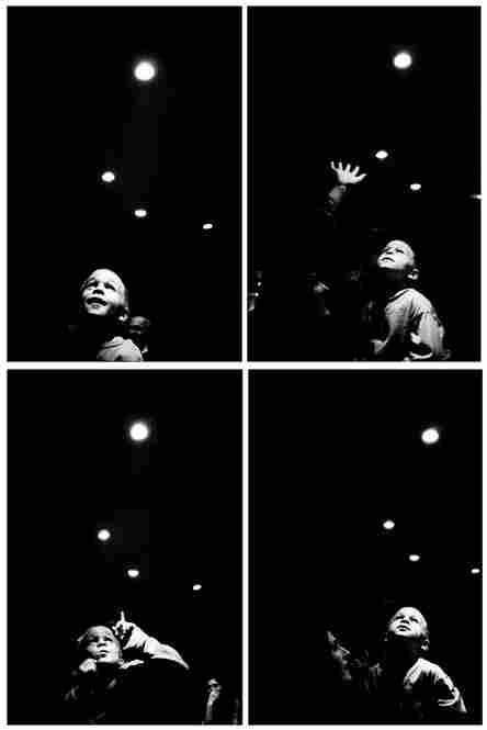 """Boy and his mother at a bar,"" Paris 1998."