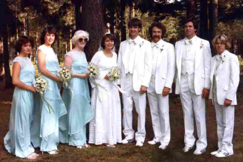 """""""When I was married in 1982 I thought how nice it would be to have a new pair of Adidas Country running shoes for me and also for my wedding party. I wore Adidas Countrys all through high school, training for cross country and track. They were sharp looking white leather with gum rubber soles and the distinctive three stripes in forest green."""" — Andy Smith, Honeoye Falls, N.Y."""