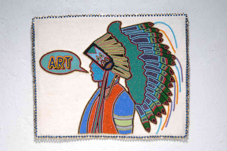 Teri Greeves is a beadwork artist living in Santa Fe, N.M., enrolled in the Kiowa Indian Tribe of Oklahoma.