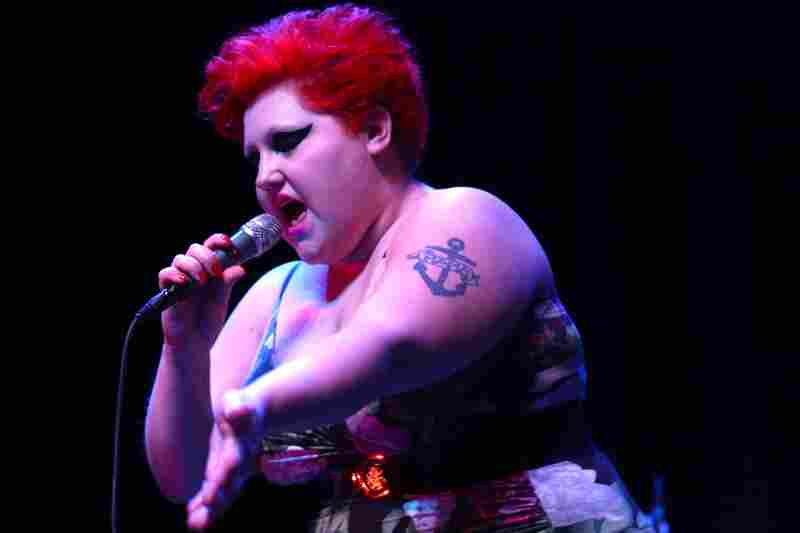 The Gossip, performing live at the 9:30 Club in Washington, D.C.