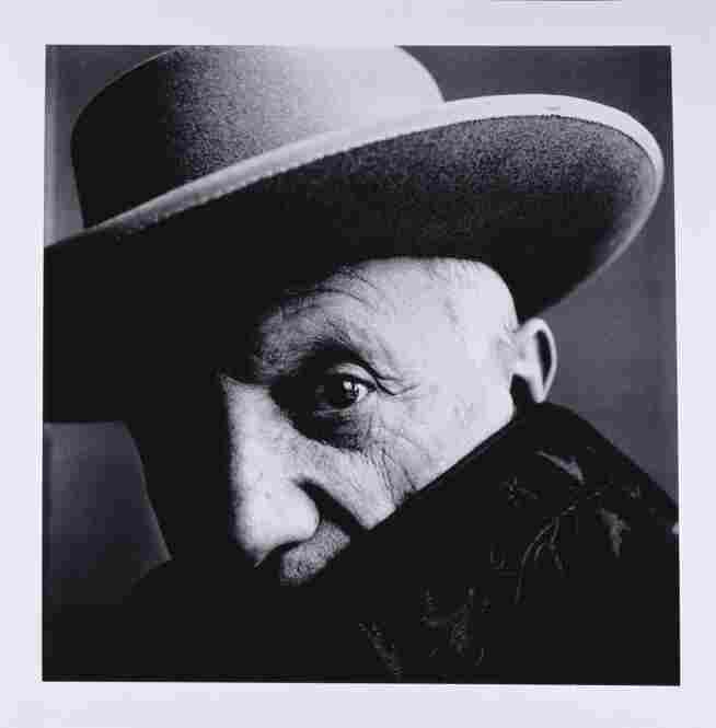 Irving Penn photographed a wide array of personalities throughout his career.  Here, Pablo Picasso, Cannes, France, 1957