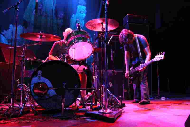 Dinosaur Jr. performing live at the 9:30 Club in Washington, D.C.