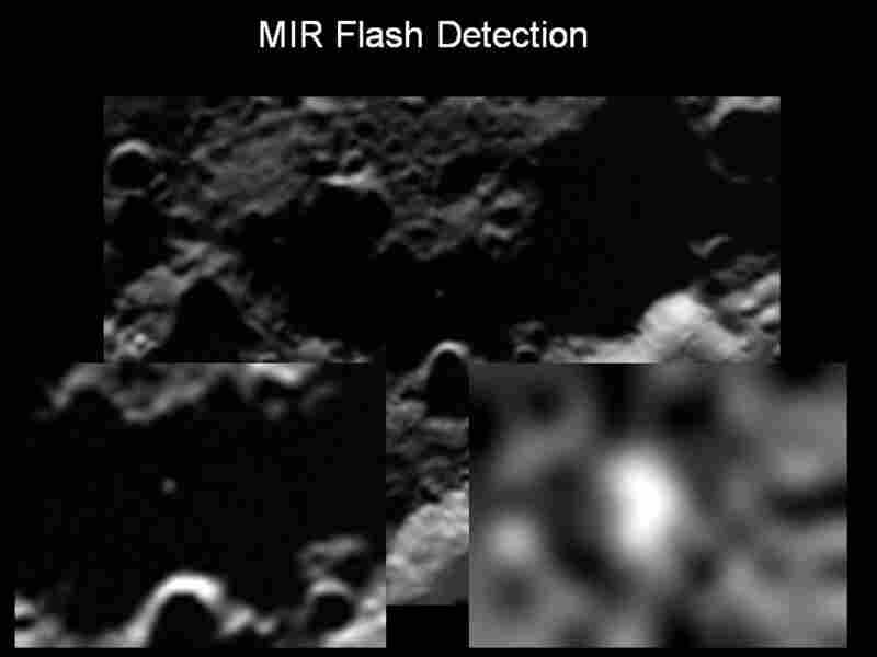 Sodium flash detected with the mid infrared camera.