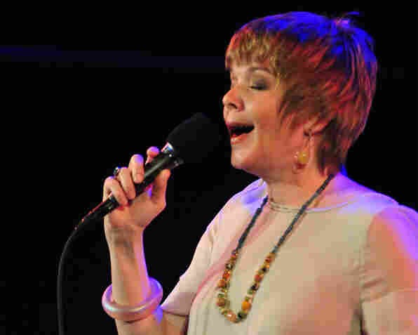 Karrin Allyson performing at Dizzy's Club Coca-Cola.