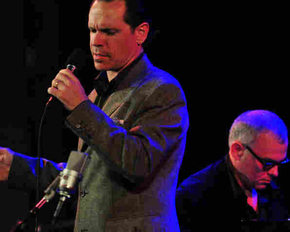 Kurt Elling with pianist Lawrence Hobgood performing at Dizzy's Club Coca-Cola.