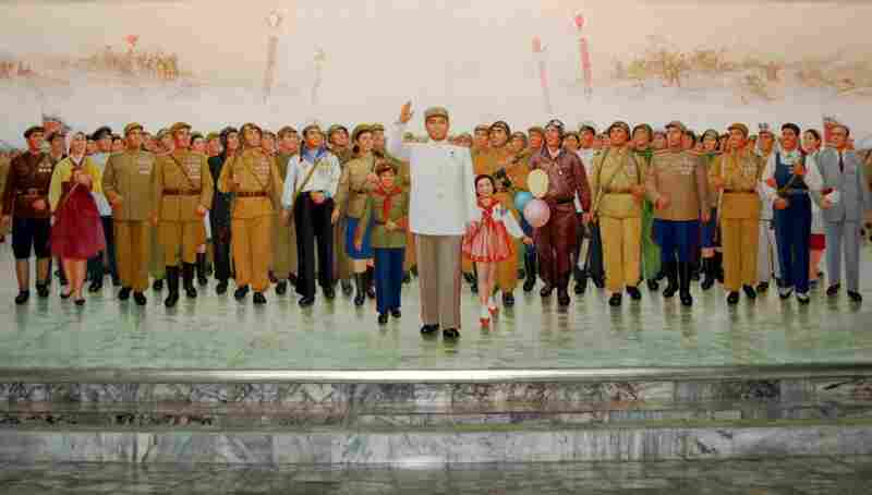 There are no advertising billboards in North Korea, only propaganda murals. The country, which is known officially as the Democratic People's Republic of Korea, is currently engaged in a mass mobilization campaign designed to build a strong, prosperous nation by 2012, the centennial of Kim Il Sung's birth.