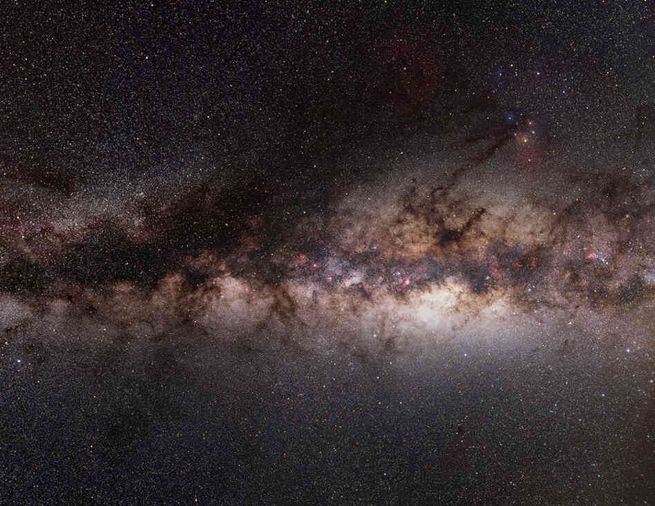 The Sagittarius Arm lies toward the center of our Milky Way galaxy.