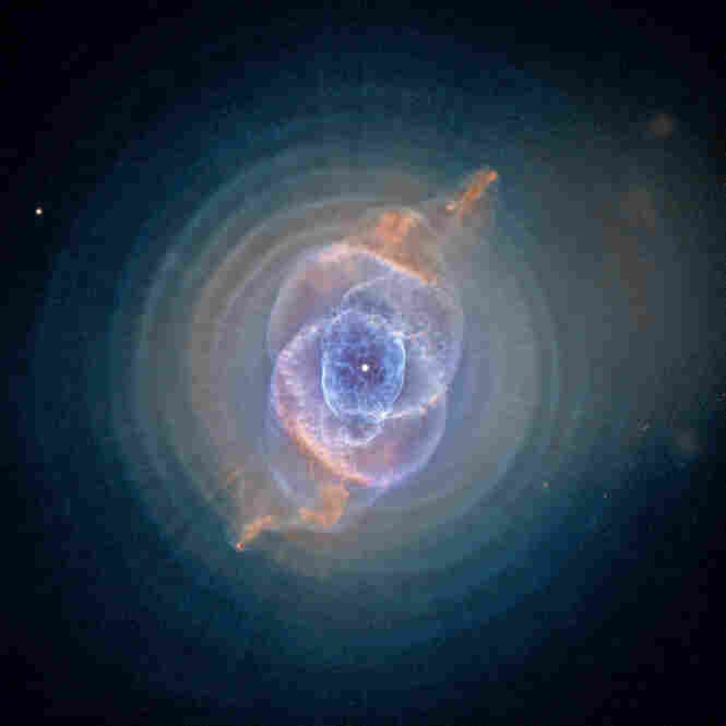 The Cat's Eye Nebula is one of the most complex planetary nebulae known and is located over 2,000 light-years away.