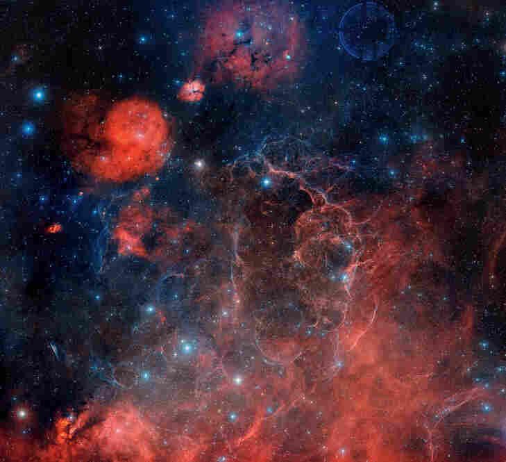 The Vela supernova remnant is 815 light-years away.