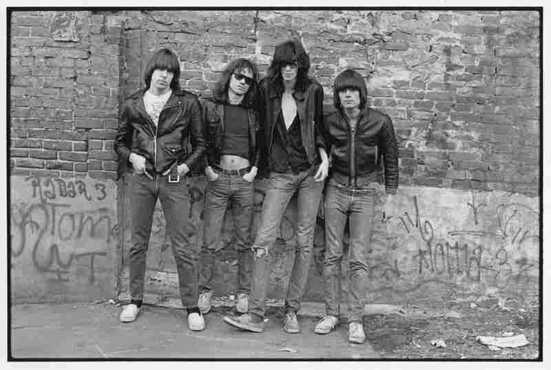 The Ramones (from left): Johnny Ramone, Tommy Ramone, Joey Ramone and Dee Dee Ramone, New York City, 1976