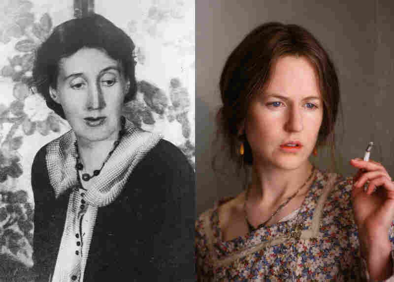 Not-Alike: Nicole Kidman (right) wore a prosthetic nose and a perpetual frown (and even learned to write right-handed), none of which made her look remotely like writer Virginia Woolf (left) in 2002's The Hours.