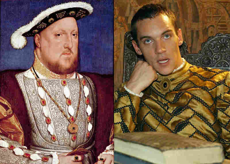 Oh-Come-On-Now: Although the young Henry VIII was thought handsome by his contemporaries, he suffered from obesity, gout and a smelly ulcer on his leg in his later years. Producers of Showtime's The Tudors presumably thought viewers would rather watch ripped, athletic Jonathan Rhys Meyers (right) in the king's love scenes with those six wives. (ShowbizIreland via Getty Images, The...