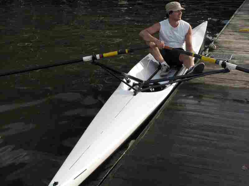 At a time when kayaks are growing more popular, Michael Cumella of Manhattan prefers a scull.