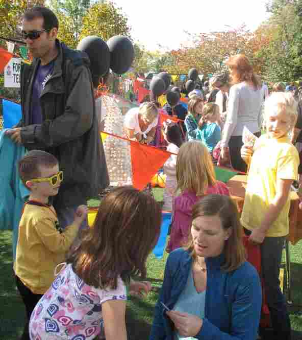 Hundreds of people attend the annual Key School Harvest Festival in Ward 3. The PTA says it needs to raise thousands of dollars to keep school activities going during these fiscally challenging times.